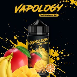 VAPOLOGY - MANGO BANANA ICE 120ml vape juice