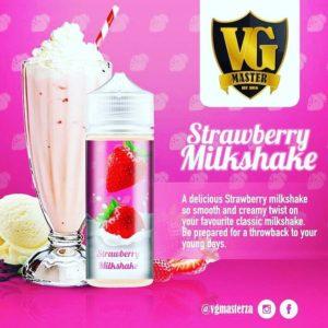 VG Master - Strawberry Milkshake 120ml