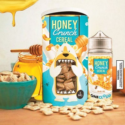 One Cloud Honey Crunch Cereal